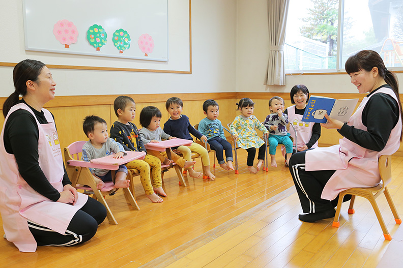 安心の育児支援体制